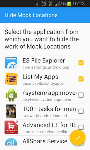 Hide Mock Locations 1.6 screenshots 1
