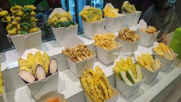 菇菇薯薯全素炸物