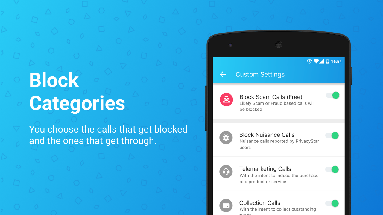 Block Calls & Caller ID- screenshot