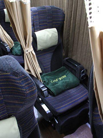 西日本JRバス「高知エクスプレス」 2179 グランドリーム車両 シート
