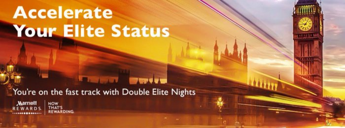 Marriott Rewards Double Elite Qualifying Nights June 6 - December 31 2016