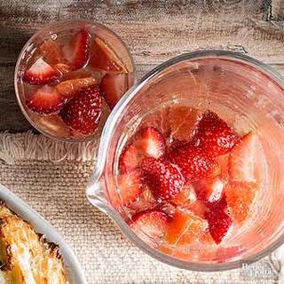 Sparkling Strawberry Mimosa.