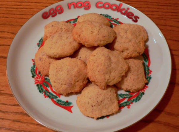 Egg Nog Cookies Recipe