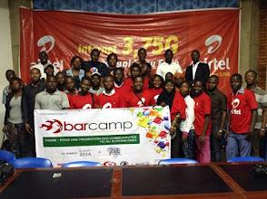 Photo: Photo de famille Barcamp Ouagadougou 2014