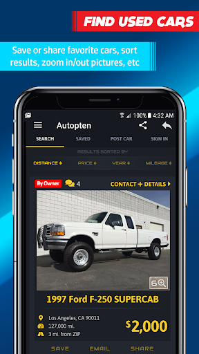 Cheap Cars For Sale - Find or Sell (Autopten) screenshot