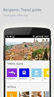 Bergamo: Offline travel guide - náhled