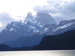 Photo: Lago Desierto und Mt.Fiz Roy