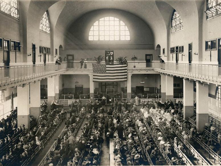 sala del giudizio Ellis Island