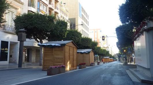 Paseo de Almería sin coches todo el fin de semana para fomentar las compras