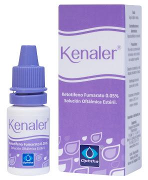 Kenaler 0.05% Solución   Frasco X1.5Ml. Ophtha Ketotifeno