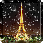 Rainy Paris Live Wallpaper PRO icon