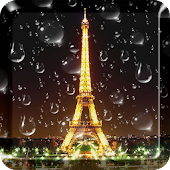 Rainy Paris Live Wallpaper PRO