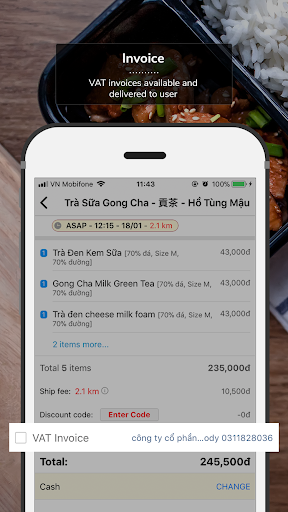 Now.vn - Food Delivery  screenshots 3