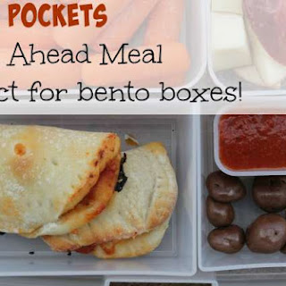 Mini Pizza Pockets - Perfect For Lunches