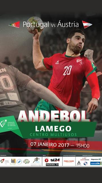 Andebol: Multiusos de Lamego acolhe Portugal vs Áustria