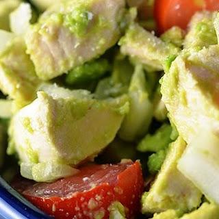 Avocado Chicken Salad #Recipe