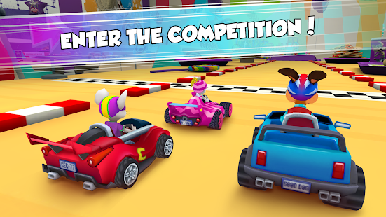 Chuck E. Cheese's Racing World Screenshot