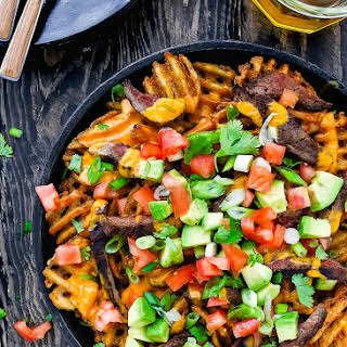 Carne Asada Fries Nachos.
