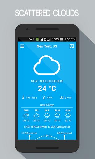 玩免費天氣APP|下載免费天气为Android app不用錢|硬是要APP