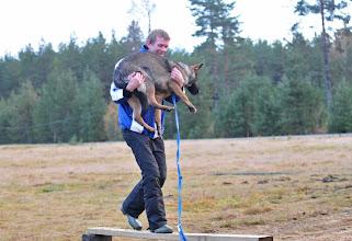 Photo: Cato og Ayla i øvelsen ballanse