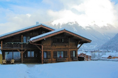 A Traditional French Chalet in the White Fairyland
