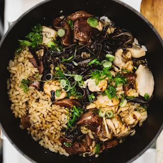 Claypot Chicken Rice.