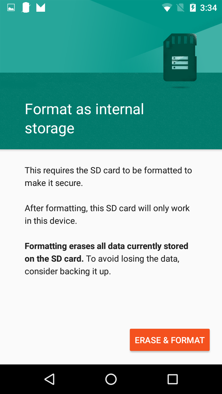 how to use moto x sd card