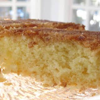 Almond Coconut Cake.