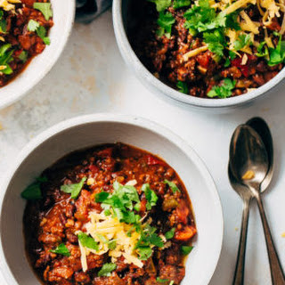 Spicy Instant Pot Mexican Chili with Black Beans Recipe