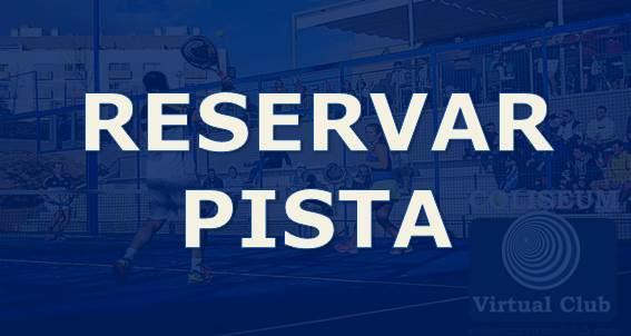 Reserva Pista Padel Coliseum