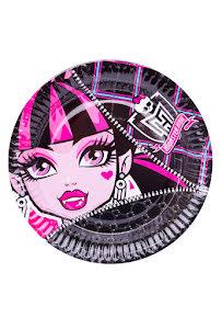Monster High, tallrikar