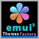 Dark Mode Pro theme for Huawei EMUI 5/5.1/8