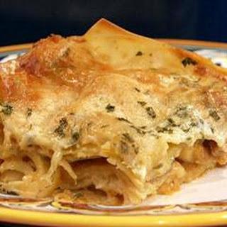 Sausage and Pumpkin Lasagna Recipe