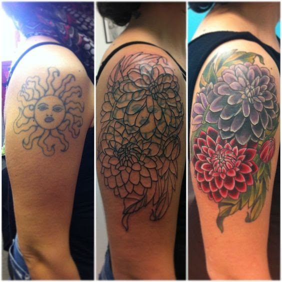 60 Amazing Cover Up Tattoos Pictures Before And After You Won T