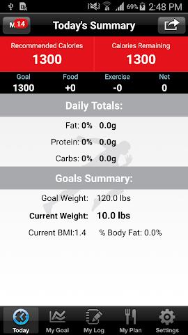 android DietPros Screenshot 1