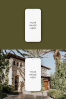 Double Phone Mockup - Pinterest Pin item