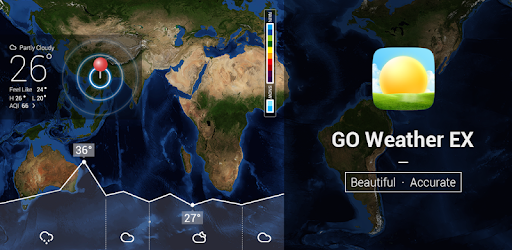 GO Weather - Widget, Theme, Wallpaper, Efficient app (apk) free download for Android/PC/Windows screenshot
