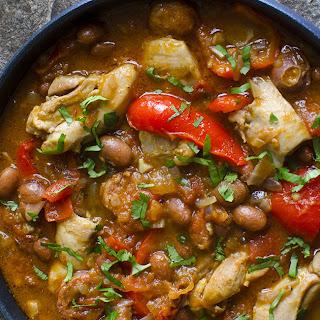 Spanish Chicken & Bean Stew.