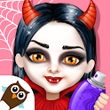 Sweet Baby Girl Halloween Fun icon
