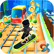Game Ninja Subway Surf: Rush Run In City Rail APK for Windows Phone