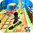 Ninja Subway Surf: Rush Run In City Rail icon