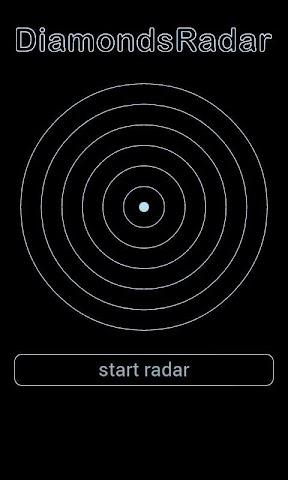 android Diamond Radar Simulation Screenshot 3