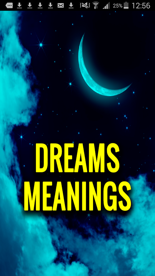 Dreams Meanings (Free App)- screenshot