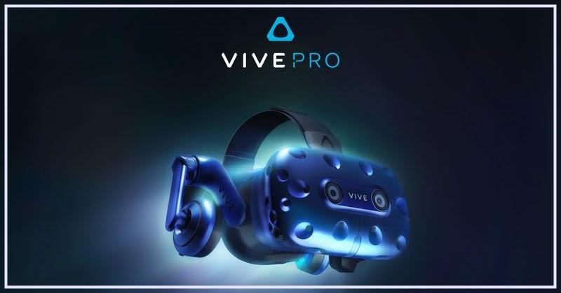 [VR] HTC Vive pro อัพเกรดใหม่ของ VR เฮดเซท