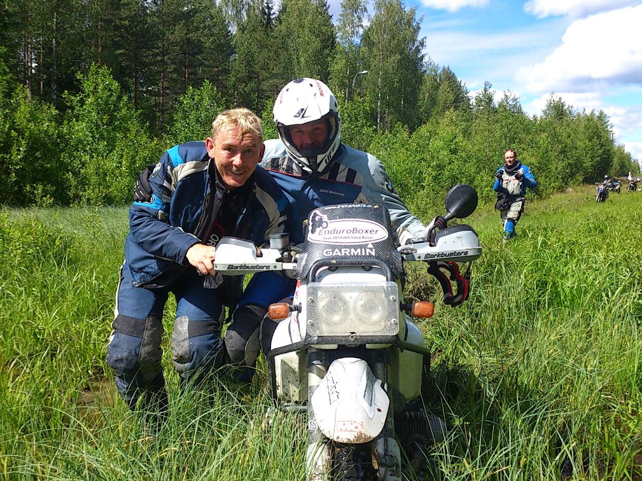 EnduroBoxer Tour 2015 mit Jörg und Manuel in Russland
