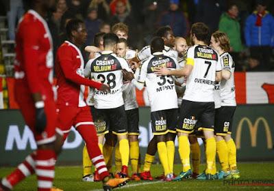 Lokeren wint op Antwerp met 1-2
