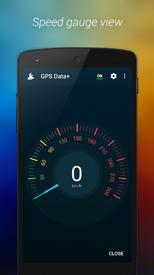 GPS Data+- screenshot