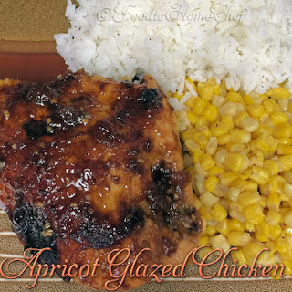 Apricot Glazed Chicken.