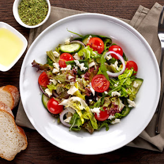 Simple Mediterranean Salad Recipe