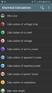 Electrical calculations android apps on google play electrical calculations screenshot thumbnail greentooth Choice Image